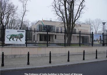 Embassy of India Building in Warsaw