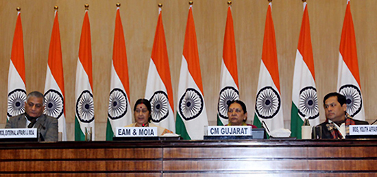 The 13th Pravasi Bharatiya Divas to be held from January 7-9, 2015 in Gandhinagar, Gujarat