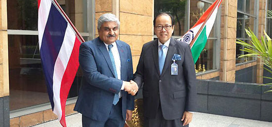 Senior Official Meeting of the India - Thailand Joint Commission Meeting takes places in Bangkok