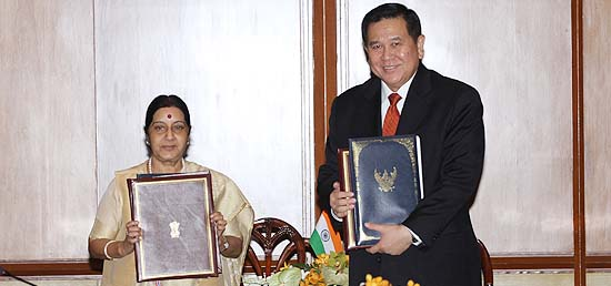 India and Thailand sign five Agreements/MOUs during the 7th Meeting of India-Thailand Joint Commission in Bangkok