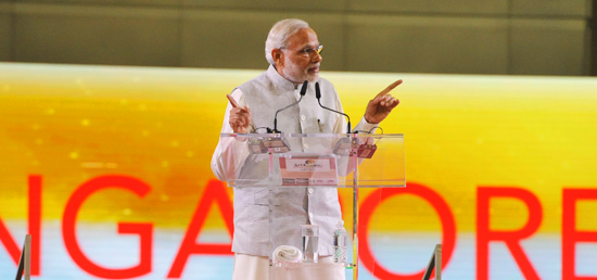 Prime Minister addresses the Indian Community at the Community Event in Singapore
