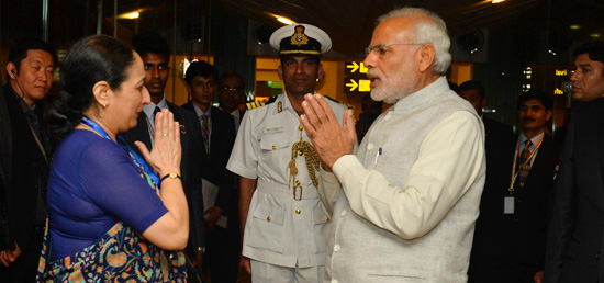 Prime Minister departs for New Delhi from Changi International Airport, Singapore