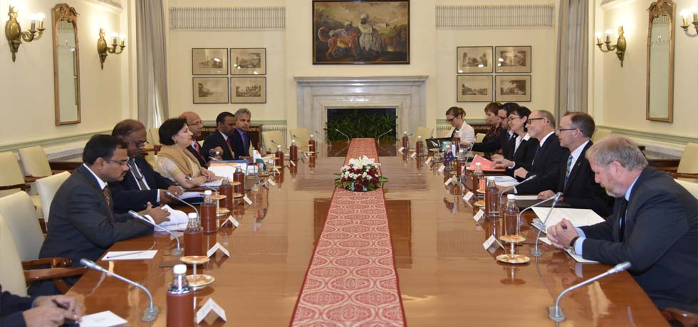 India - New Zealand Foreign Office Consultations takes place in New Delhi