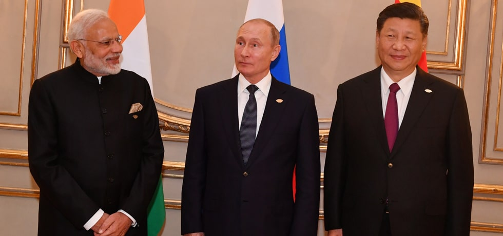Prime Minister meets Vladimir Putin, President of Russia and Xi Jinping, President of China at RIC Informal Summit on the margins of G20 Summit in Buenos Aires