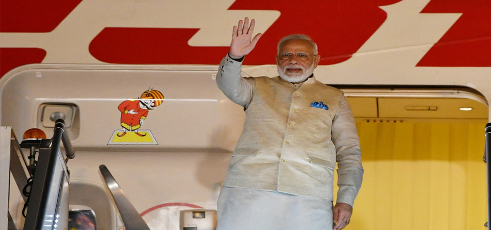 Prime Minister departs for Houston on first leg of his 7-day Visit to USA