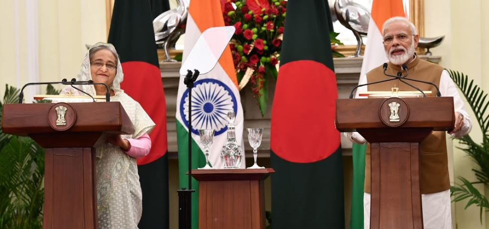 Prime Minister delivers his remarks on video inauguration of bilateral Projects during Official Visit of Prime Minister of Bangladesh to India