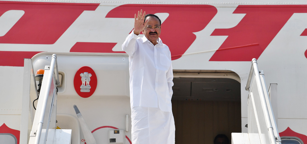 Vice President departs from New Delhi on his 2-Nation Visit to Comoros and Sierra Leone