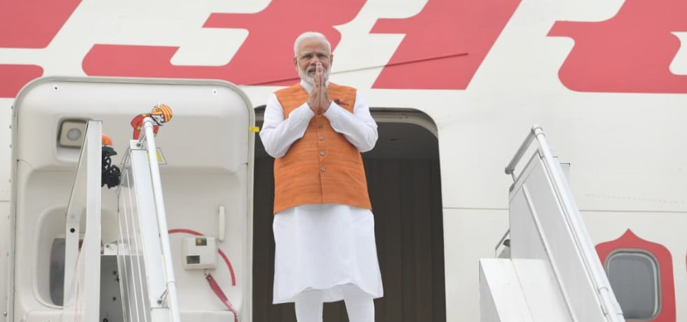 Prime Minister departs for Bangkok on his 3-day visit to Thailand [ph]Photo Courtesy: Lalit Kumar[/ph]