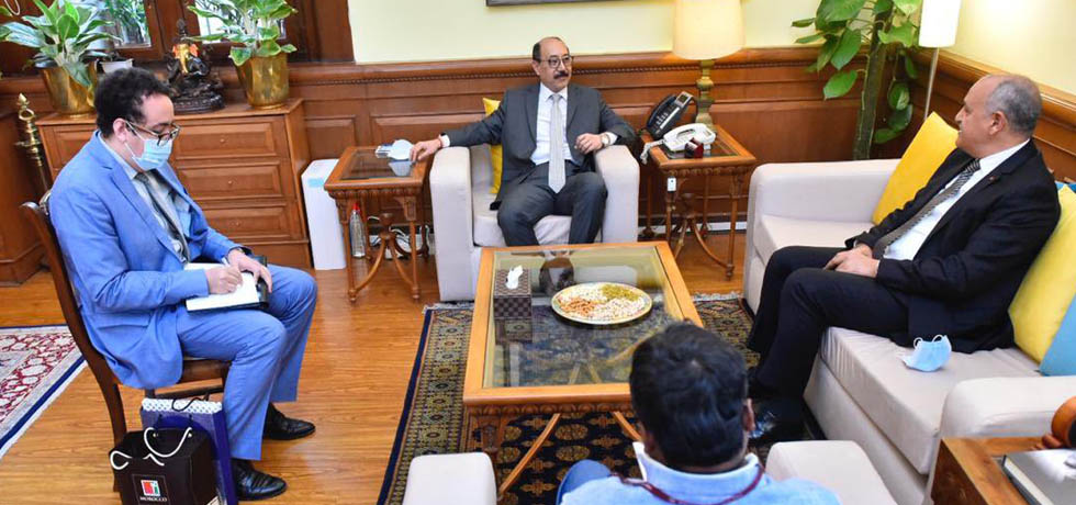 Foreign Secretary meets Mohamed Maliki, Ambassador of Morocco in New Delhi