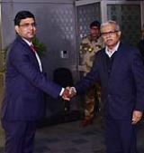 Visit of Minister of Foreign Affairs & Special Envoy of the President the Republic of Maldives to India