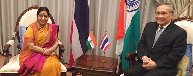 Visit of External Affairs Minister to Thailand, Indonesia and Singapore (January 4-8, 2018)