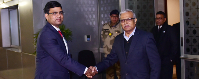 Visit of Minister of Foreign Affairs & Special Envoy of the President the Republic of Maldives to India (January 10-12, 2018)