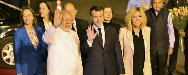 State Visit of President of the French Republic to India (March 9-12, 2018)