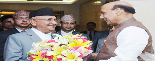 State Visit of Prime Minister of Nepal to India (April 6-8, 2018)