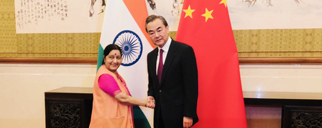 Visit of External Affairs Minister to China (April 21-24, 2018)