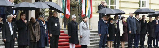 Visit of Vice President to Poland (April 26-28, 2017)