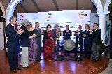 Smt. Preeti Saran, Secretary (East), launching celebrations to mark 25 years of ASEAN-India Relations at a Reception organised by MEA and FICCI on 8 February, 2017, along with ASEAN Ambassadors, JS (ASEAN ML), Secretary General, FICCI and Past President, FICCI.