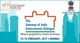 The Gateway of India Geoeconomic Dialogue. : External website that opens in a new window.
